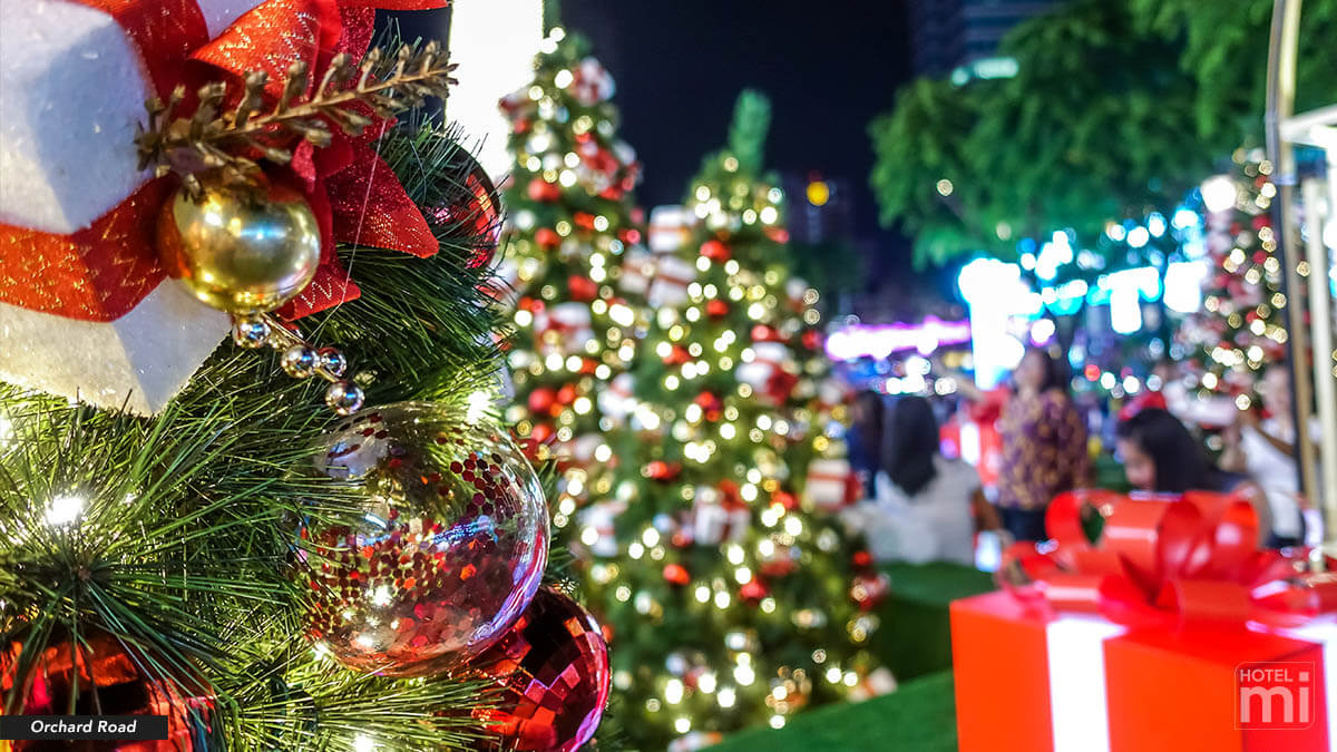 Christmas Light Up at Orchard Road, Singapore