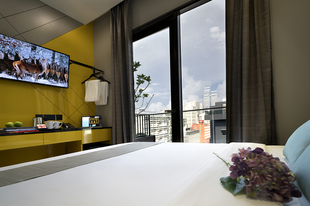 Superior Double Balcony Room at Hotel Mi
