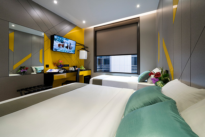 Triple Room at Hotel Mi Singapore